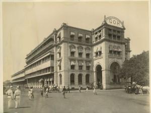 GRAND ORIENTAL HOTEL Colombo CEYLON 1880s