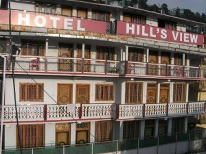 Hotel hill view